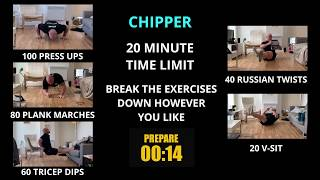 Week 15   HIIT Chipper