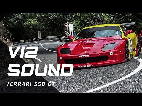 V12 SOUND Ferrari 550 GT // Piero Nappi // Reventino 2015
