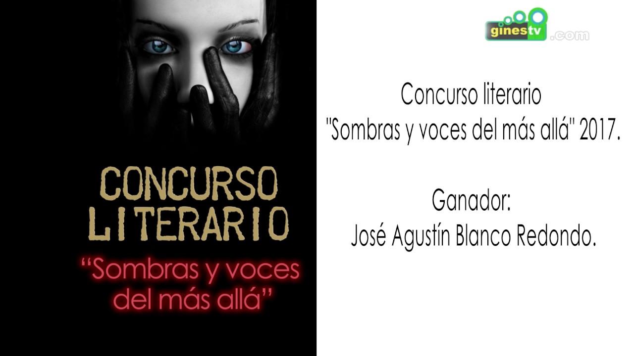 """Concurso literario """"Sombras y voces del más allá"""". Gines 2017"""