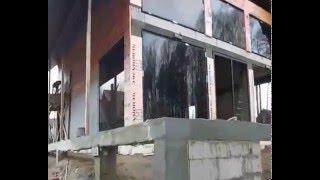 видео Панорамное остекление коттеджей