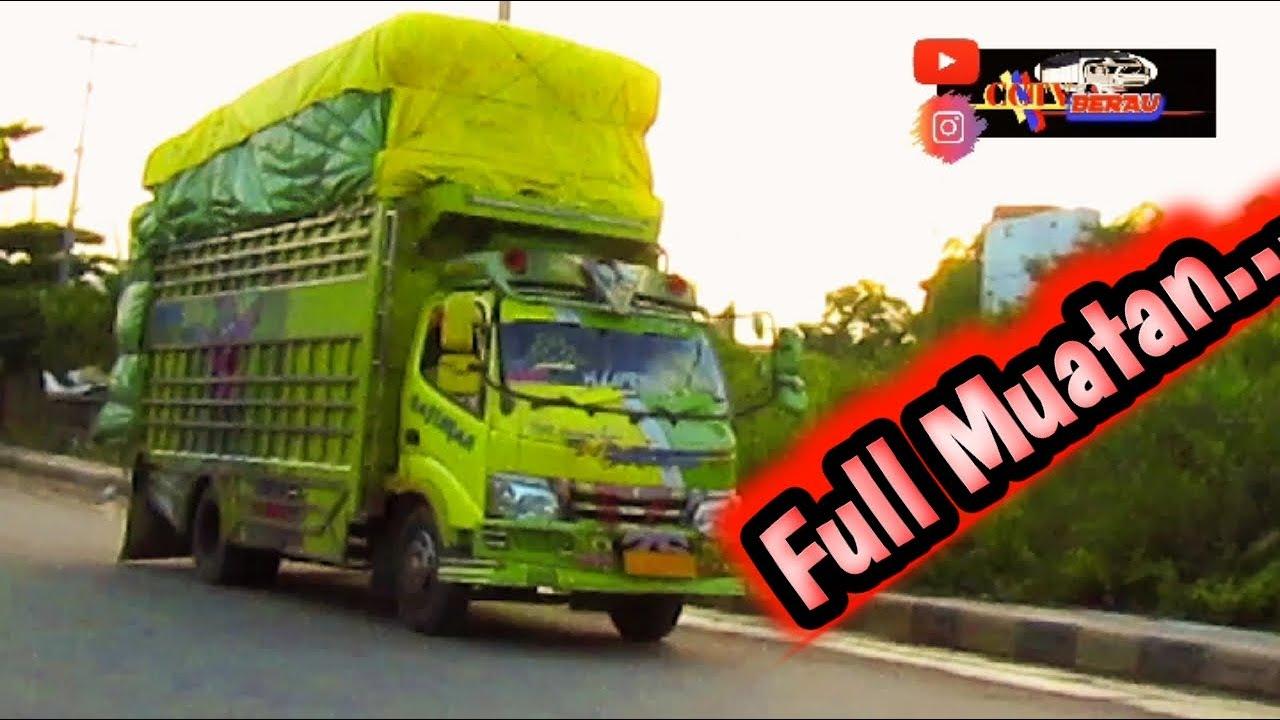 Truk Bak Sulawesi Full Muatan Youtube