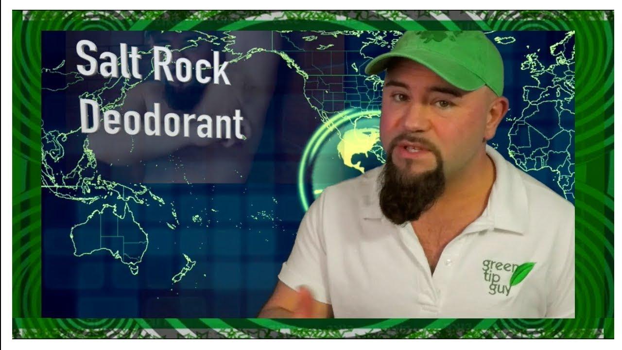 how to use a rock salt deodorant