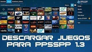 como descargar juegos para ppsspp