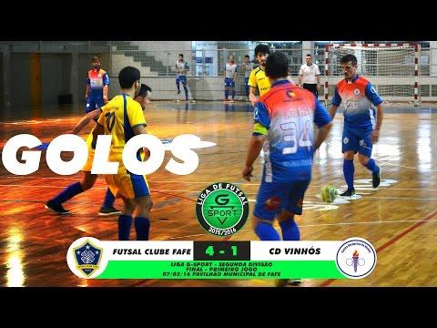 Final Liga G-Sport 2015/16 (2ª Div. Jogo 1): Futsal Clube Fafe, 4 x CD Vinhós, 1 (07/05/2016)