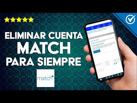 Cómo Eliminar una Cuenta de Match para Siempre ¡Fácil y Rápido!