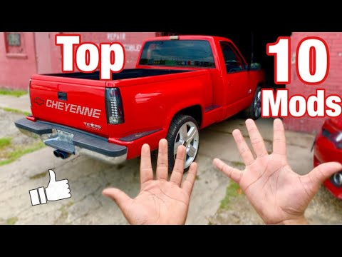 Top 10 Mods You MUST Do To Your OBS Chevy!!!