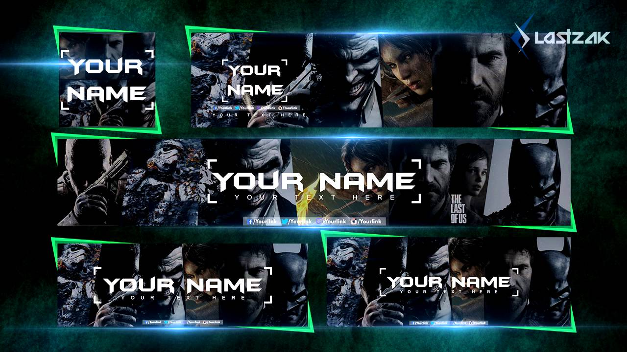 Free Youtube Banner Avatar Twitch Banner Twitter Header Facebook