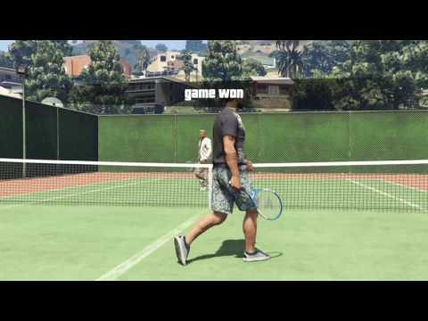 GTA V Tennis Online