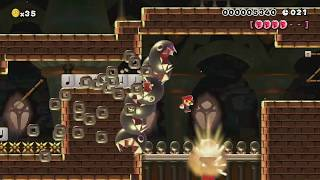 An Inspired Speedrun (50 Sec) by ★Dude64★♂ ~ WORLD RECORD! - SUPER MARIO MAKER - NO COMMENTARY