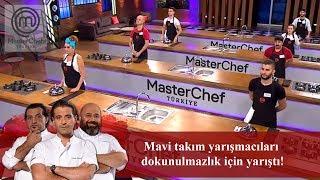 Mavi takım yarışmacıları dokunulmazlık için yarıştı! | 6. Bölüm | MasterChef Türkiye