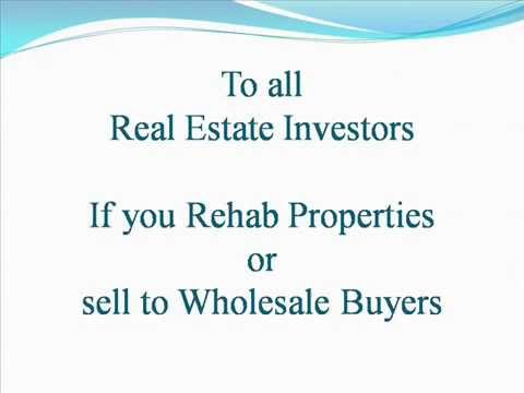 the mission of the real estate rehab investors The ixl real estate team mission statement  we are able to provide investors with insight on how to maximize their investment,  or rehab and flips.