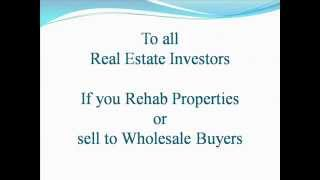 Real estate investment software | property analysis | rehab calculator FREE
