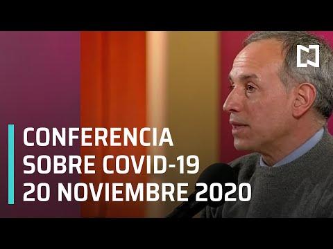 Conferencia Covid-19- en México - 20 noviembre 2020