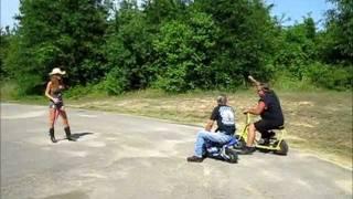BurnOut Cycle Mini Bike races