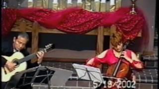 Gaiana Mndoian, cello & Robert Wetzel, guitar - Leonard Von Call - Polonaise Op. 84