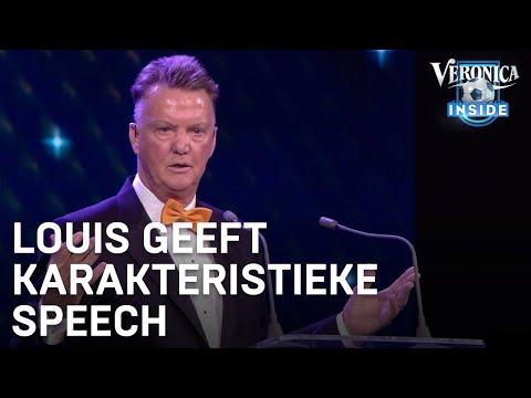 Louis van Gaal geeft karakteristieke speech aan Robben en Van Persie | VOETBALGALA