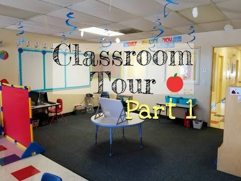Classroom Tour: Ocean/Beach Theme (part 1)