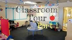 Classroom Tour: Ocean/Beach Theme (part 1)
