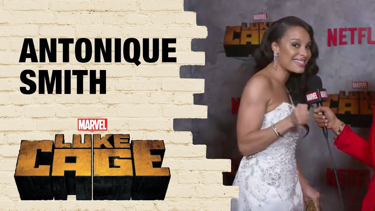 Antonique Smith onDetective Nandi Tyler's History with Misty Knight in Marvel's Luke Cage Season 2