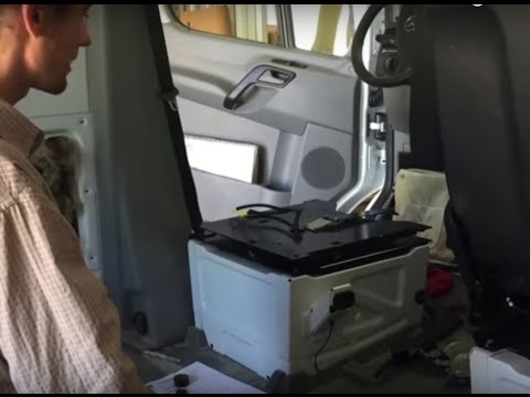 Part 3 Sprinter Van Conversion  Swivel Seats Instalation
