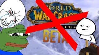 TFW No Classic WoW Beta