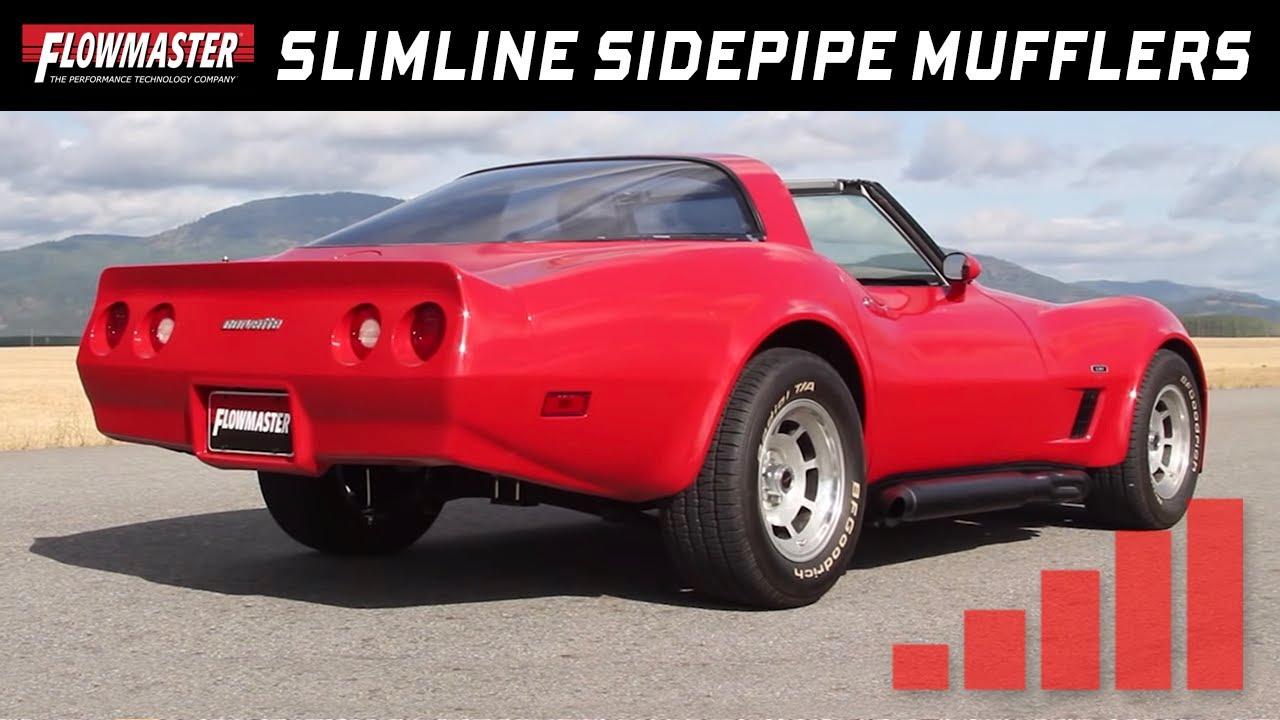 flowmaster slimline sidepipe mufflers