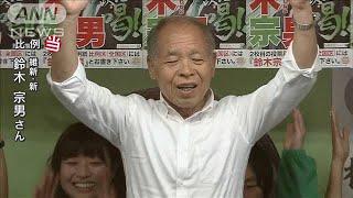 【参院選】鈴木宗男氏(維新:新)が比例で当選(19/07/21)