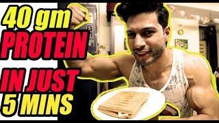 Natural Vegetarian Breakfast II Bodybuilding II Health II Fitness