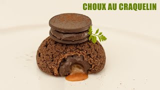 CHOCOLATE CHOUX AU CRAQUELIN WITH LEMON 🍋  Corky Fox