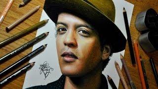 Drawing Bruno Mars