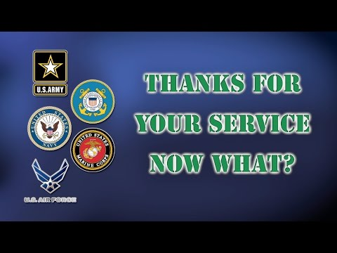 Thanks For Your Service. Now What? - Show 01