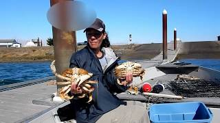 Crabbing for Dungeoness Crab in Oregon - How to catch crab with the Crab Max trap