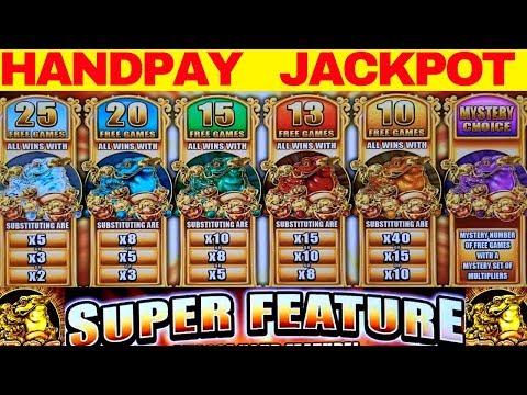5 Frogs Slot Machine Bonus HANDPAY JACKPOT w/$10 Bet | SUPER MEGA BIG WIN |Live Jackpot Handpay w/NG