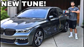 WE TUNED OUR BMW 750I M SPORT! *NEW SOFTWARE TUNE*