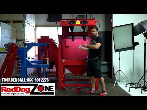 Canada Sand Blasting Cabinets RedDog Zone 990L