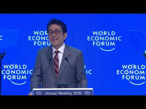 Davos 2019 - Special Address by Shinzo Abe, Prime Minister of Japan
