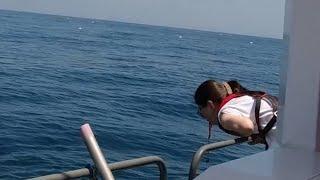 멀미약을 안 먹고 배를 타면 어떻게 될까?