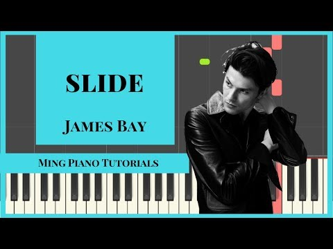 Slide - James Bay Piano Cover Tutorial (FREE midi and SHEETS) Ming Piano Tutorials