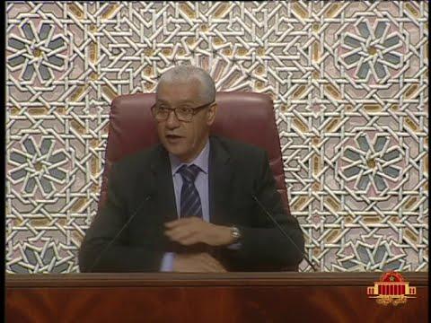 مناقشة عرض السيد رئيس المجلس الأعلى للحسابات حول أعمال المجلس لسنة 2014 - 25/05/2016