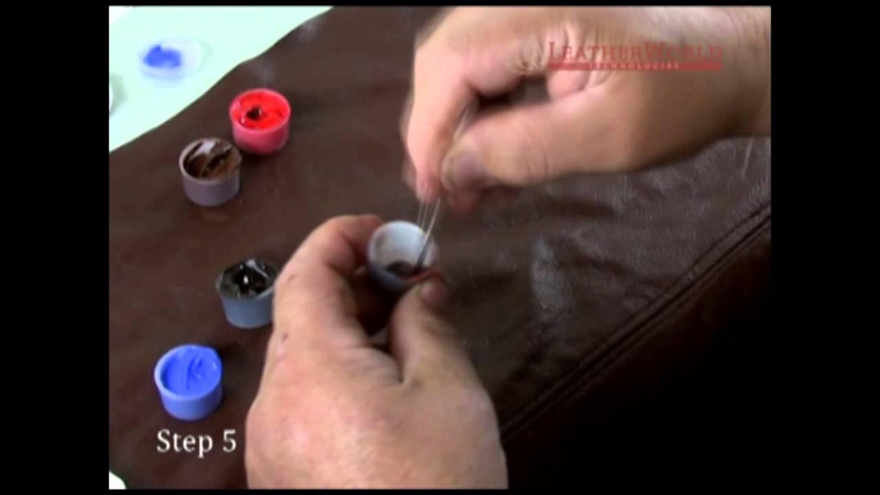 Liquid Leather Professional Repair Kit Tutorial - YouTube
