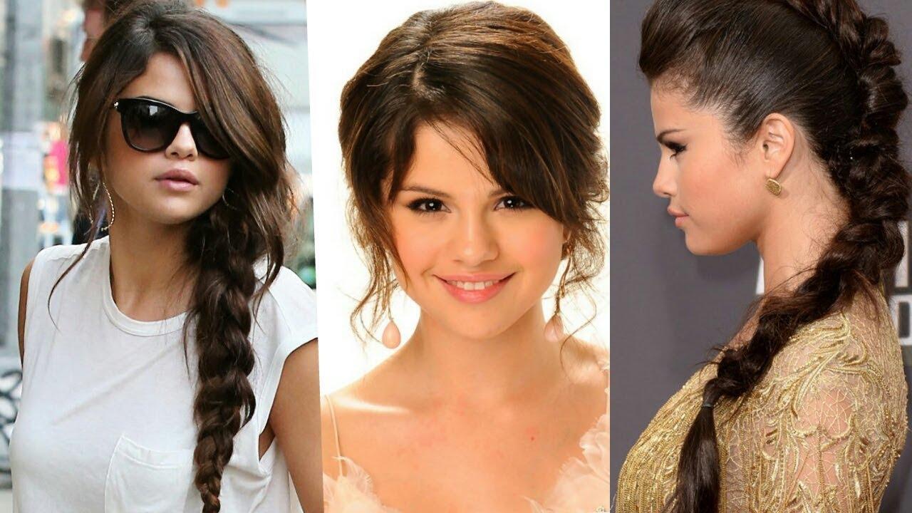 selena gomez's hair styles
