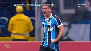Gols - Grêmio 2 x 1 Palmeiras - Copa do Brasil 2016