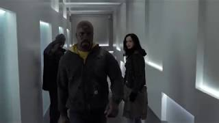 The Defenders - Hallway Fight Scene (S01E03)