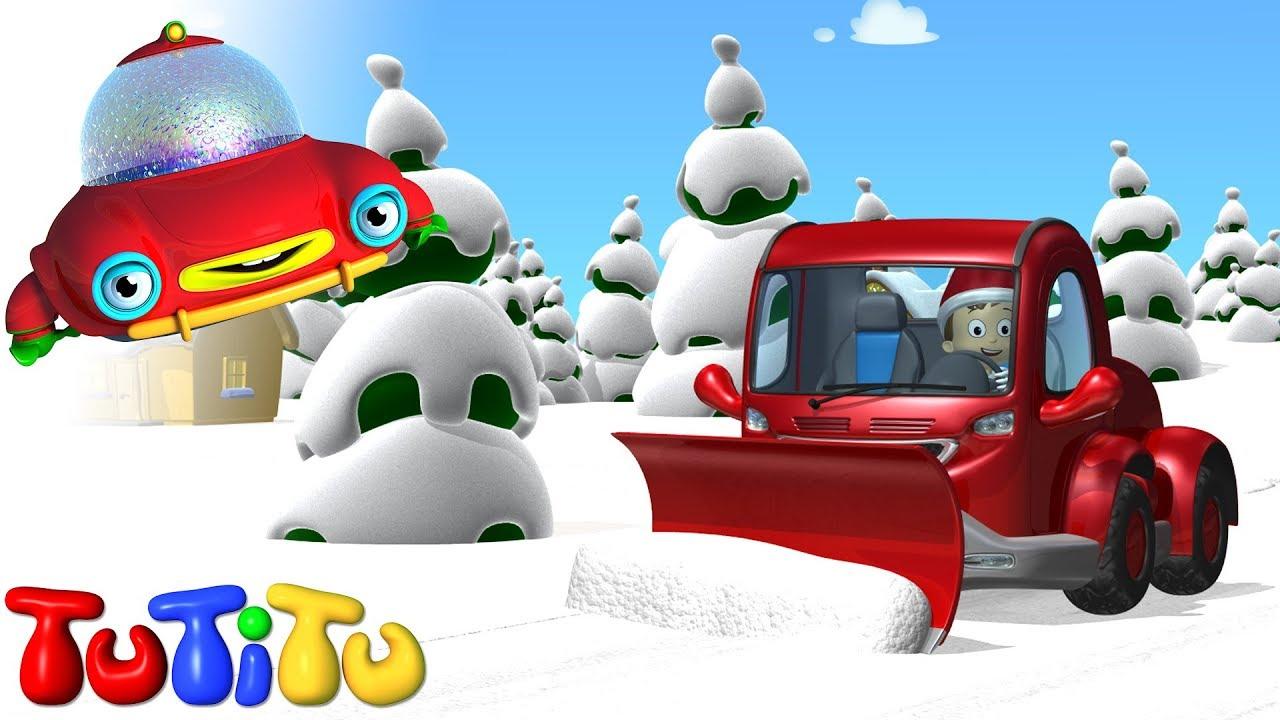 TuTiTu Spielzeug | Schneepflug | Weihnachten - YouTube