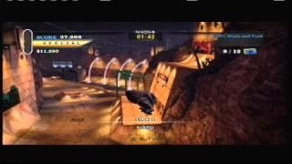 Tony Hawk's Pro Skater HD Downhill Jam Sick Score (333k in 45 seconds)