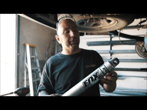 How To: Fox 2.0 Performance Shock Install – Chevy Express Van