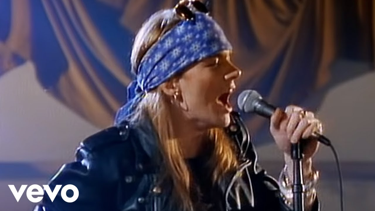 Resultado de imagen para guns and roses switch child of mine youtube