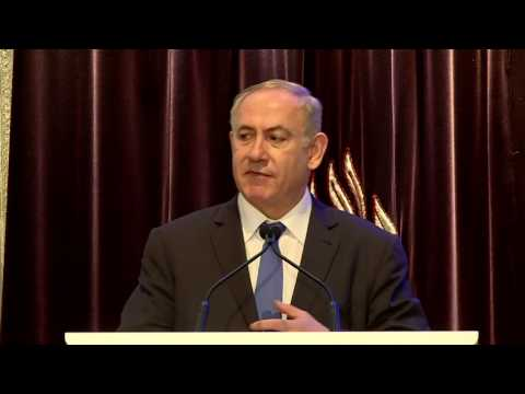 PM Netanyahu and Australian PM Turnbull at Event with Jewish Community
