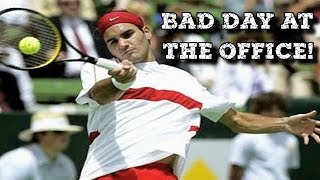 WORST Federer Performance against Agassi? ● SF Kooyong 2004 + Interview