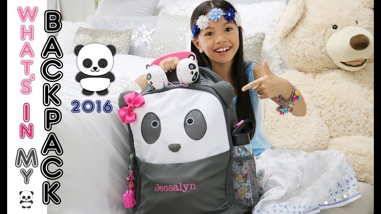 Justice Backpacks Panda Sante Blog